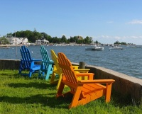 Branford, CT - chairs of summer in Stony Creek